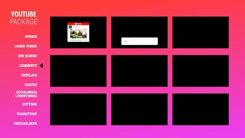 YoutubePackage v5 Plantillas de Premiere Pro