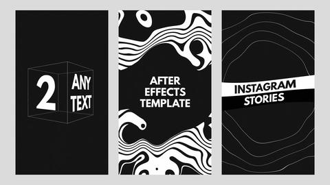 Typography Instagram Stories After Effects Template