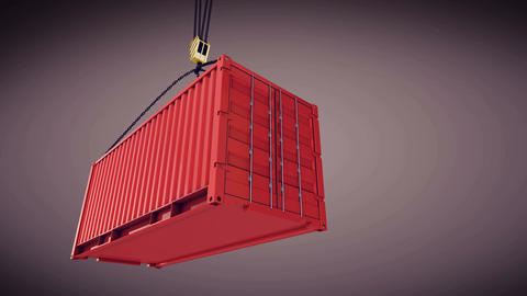 Cargo container Animation