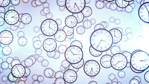 Clock face animation. Business concept Animation