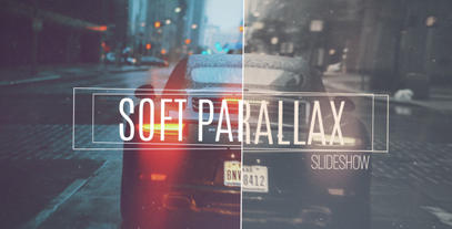 Soft Parallax Slideshow After Effects Project