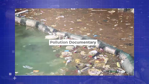 Pollution Documentary Apple Motion Template