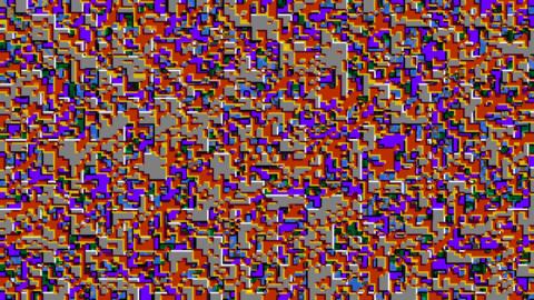 モザイクトランジション color HD CG動画