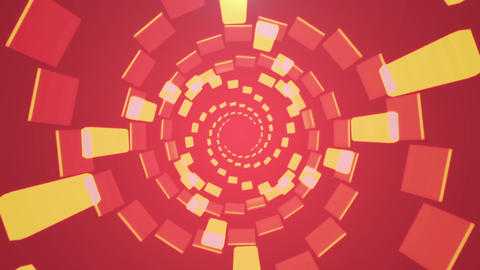 Abstract CG Background Red Animation