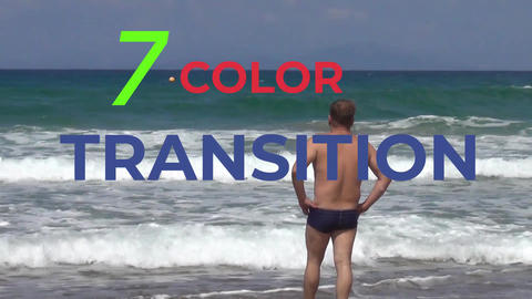 Project Color Transition one MOGRT Plantillas de Motion Graphics