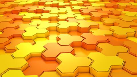 Background of Geometric Shapes CG動画