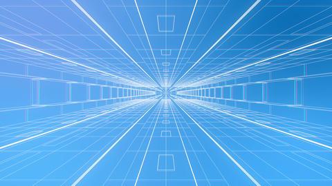 デジタル 空間 イメージ アブストラクト CG動画