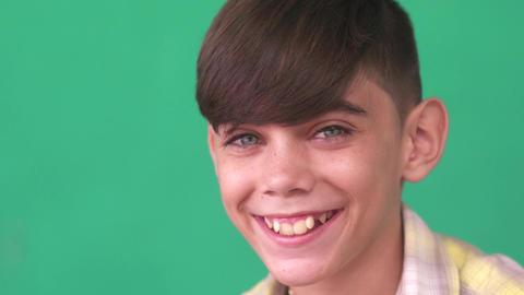 32 Children Portrait Latino Boy Smiling Happy Funny Hispanic Child Footage