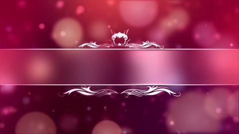 Bokeh Wedding Titles (2) Animation