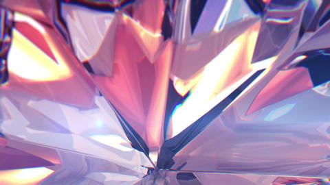 Slow rotating around the diamond Animation