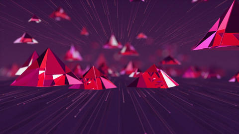 Pyramid Zoom Background Animation