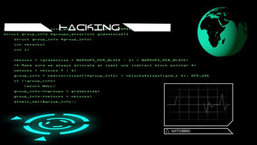 Hacking intro After Effects Projekt