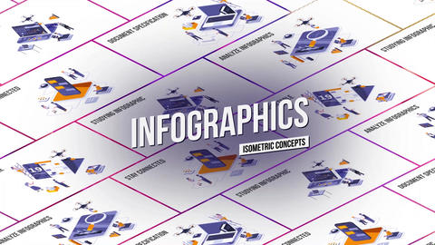 Infographics - Isometric Concept After Effects Template