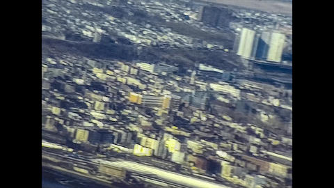 NEW YORK 1975: New York seen from above in the mid 70's 20 Live Action