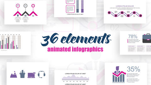 Infographics Vol 37 After Effects Template