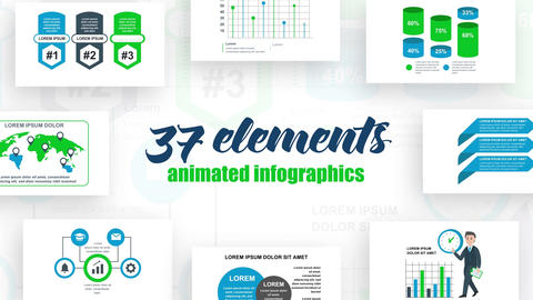 Infographics Vol 39 After Effects Template