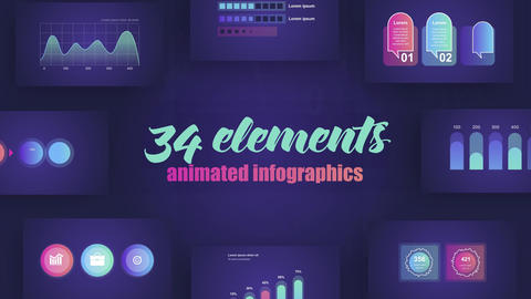Infographics Vol 41 After Effects Template