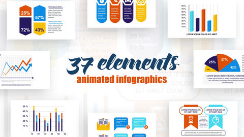Infographics Vol 40 After Effects Template