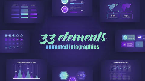 Infographics Vol 42 After Effects Template