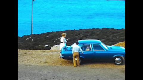 ALGHERO, ITALY 1974: People on vacation in sardinia 5 Live Action