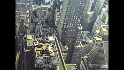 NEW YORK 1975: New York streets view in the mid 70's 12 Live Action