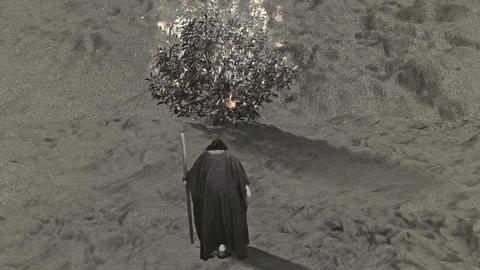 Moses and the Burning Bush Live Action