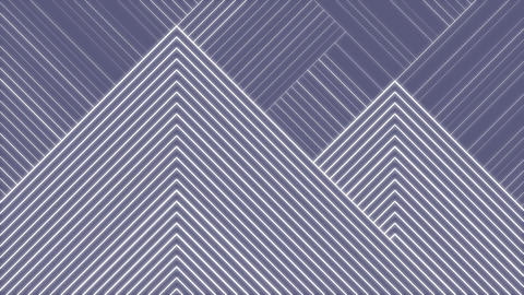 Geometric abstract motion background, transitions Animation