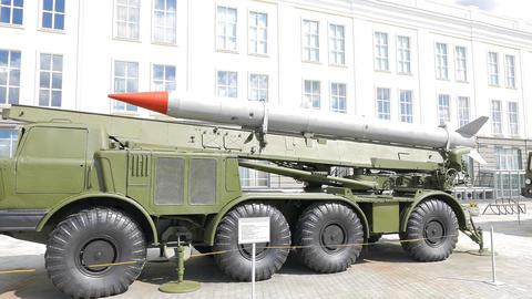Luna M (missile system). Pyshma, Ekaterinburg, Russia Footage