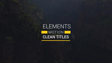 25 Titles Lower Third Animated After Effects Project