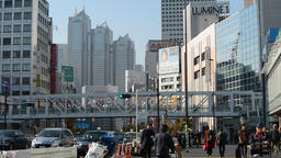 View of Shinjuku, Tokyo Footage
