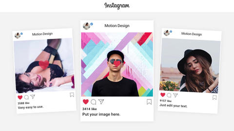 Instagram Promo Apple Motion Template