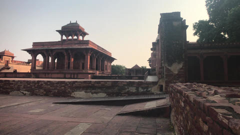 Fatehpur Sikri, India - ancient architecture from the past part 18 Live Action