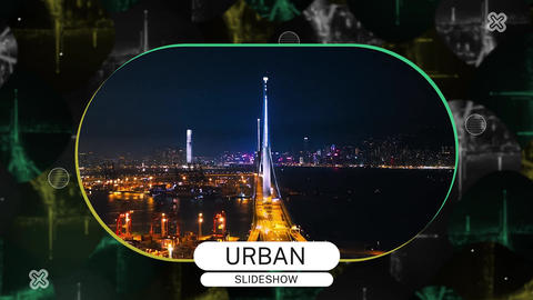 Urban Slideshow Premiere Pro Template