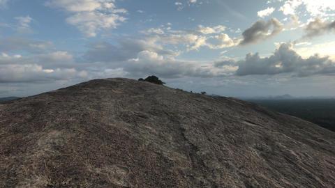 Sigiriya, Sri Lanka, evening time on the mountain Live Action