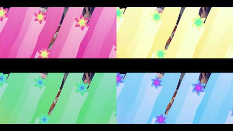 ラインで隠して画面遷移(簡単カスタマイズ) After Effectsテンプレート