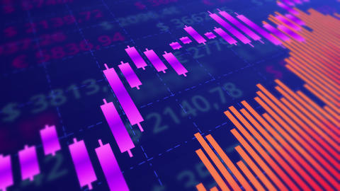 Stock market presentation Animation
