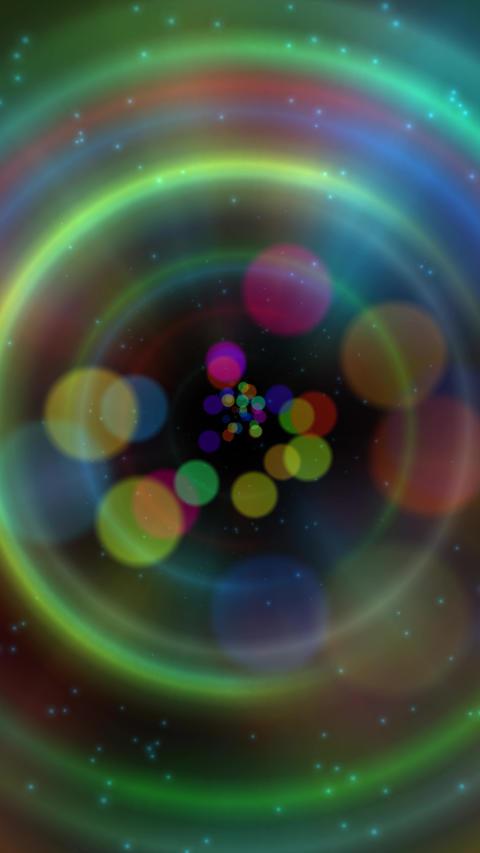 Futuristic vertical background Animation