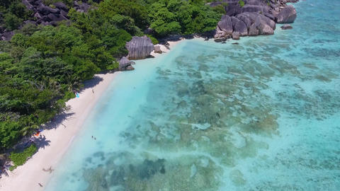 Anse Source Argent in Seychelles Live Action