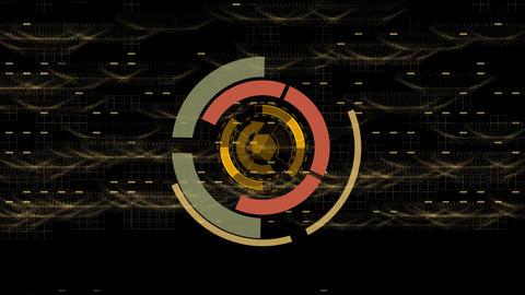 Space SiFi background CG動画