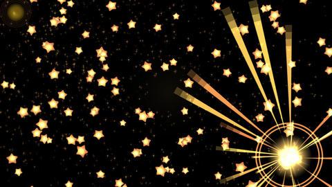 Star explosion CG動画