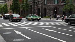 Traffic in Tokyo, Japan Footage