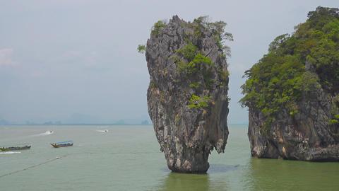 James Bond Island (Ko Tapu), Thailand Footage