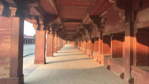 Fatehpur Sikri, India - historic buildings of the ancient city part 3 Live Action