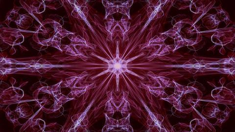 Deep purple circular magic antistress patterns, fractal live ornament for high Animation