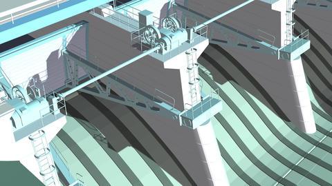 Open Door - 3d animation on Green Screen Animation