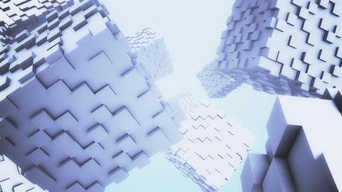 Cube BackGround CG Animation