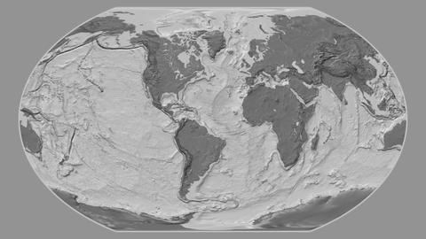 Cape Verde - hub of the world. Bilevel Animation