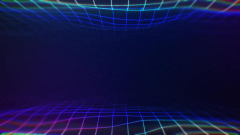 Wireframe space Animation