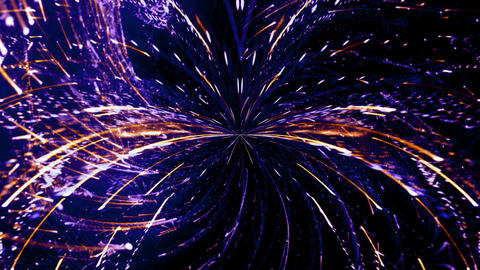 Particle Lights 02 Animation
