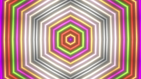 Colorful Kaleidoscope Stock Video Footage